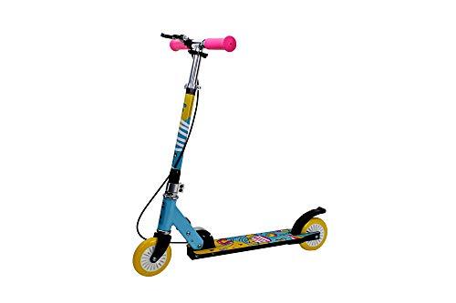 FA Sports Velotouro, Monopattino ragazzi e ragazze, rosa, giallo, blu, Per bambini dai 3 anni in su