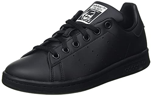 adidas Stan Smith J, Scarpe da Ginnastica, Core Black/Core Black/Ftwr White, 37 1/3 EU