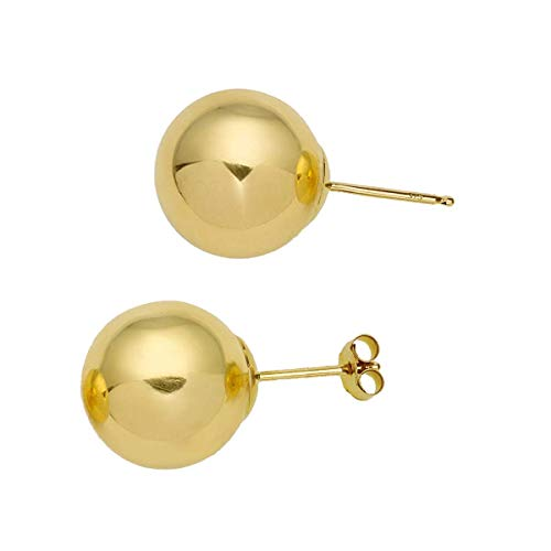 The Olivia Collection 9ct Yellow Gold 8mm Ball Stud Earrings