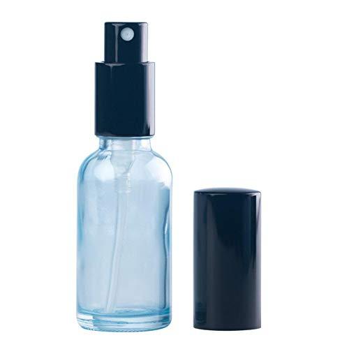 Beeria Mini flacons vaporisateurs en plastique avec pipette compte-gouttes pour parfum, lotion, parfum, brume vide pour voyage