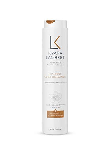 Kyara Lambert - Shampoo Súper Hidratante con Extracto de Orquídea Salvaje y Vitamina C, 400ml | Champú Hidratante Regenerador | Cabello Fuerte y Sano