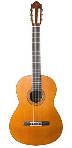 """Yamaha C40 II Guitarra Clásica Guitarra 4/4 de madera, 65 cm 25 9/16"""", 6 cuerdas de nylon, Color Negro (Acabado brillante)"""