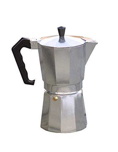 Relags Espresso Maker Bell anapoli 3T Théière, Argent, Taille Unique