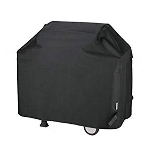 Huolirong Funda Protectora para Muebles Exterior Funda Protector For Barbacoa Impermeable Portátil Fundas For Muebles,Negro Muebles De Jardín Funda (Color : Black, Size : 147x61x122CM)