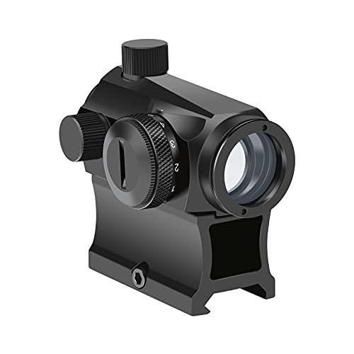 OTW Red Dot Sight,1x20mm 4 MOA Red Green Dot Sight Micro Scope