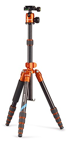 Cullmann 55452 Mundo 522T - Trípode, color naranja