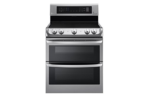 "LG LDE4413ST 30"" Stainless Steel Electric Smoothtop Double Oven Range"