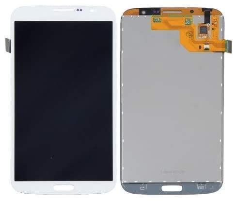 XiaoZhu Ersatzteile für Samsung Galaxy Mega 6.3 (i9200) LCD Display Touchscreen Bildschirm Digitizer Ersatzdisplay Assembly (ohne Rahmen) Weiß