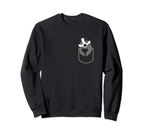 Le Blaireau Dans La Poche Cadeau Badger Pocket Sweatshirt
