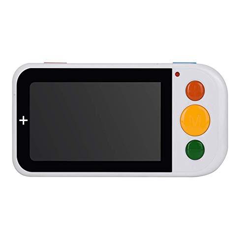 JL Tragbar 4.3-Zoll-Digitallupe Sehbehindertes Lesen 2X-32X Zoom Unterstützung für Die Ausgabe Auf Dem Fernseher Mehrere Farbmodi für Sehbehinderung Und Farbenblindheit