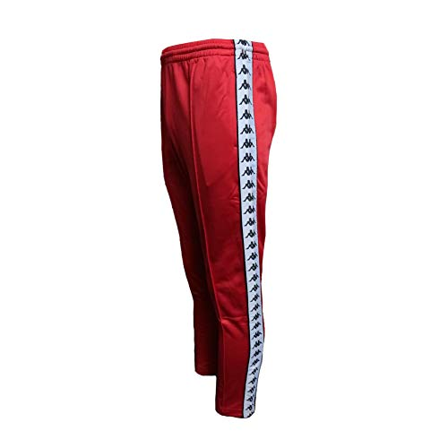 Kappa 222 Banda Astoria Slim Authentic Pantalones Hombre Rojo S (Small)