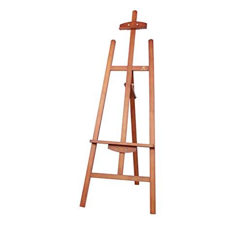 XIANWEI Caballete, Soporte De Exhibición Multifunción, Caballete For Bocetos, Tablero De Dibujo Plegable 4k, Color Opcional 1.45m ( Color : Wood Color )
