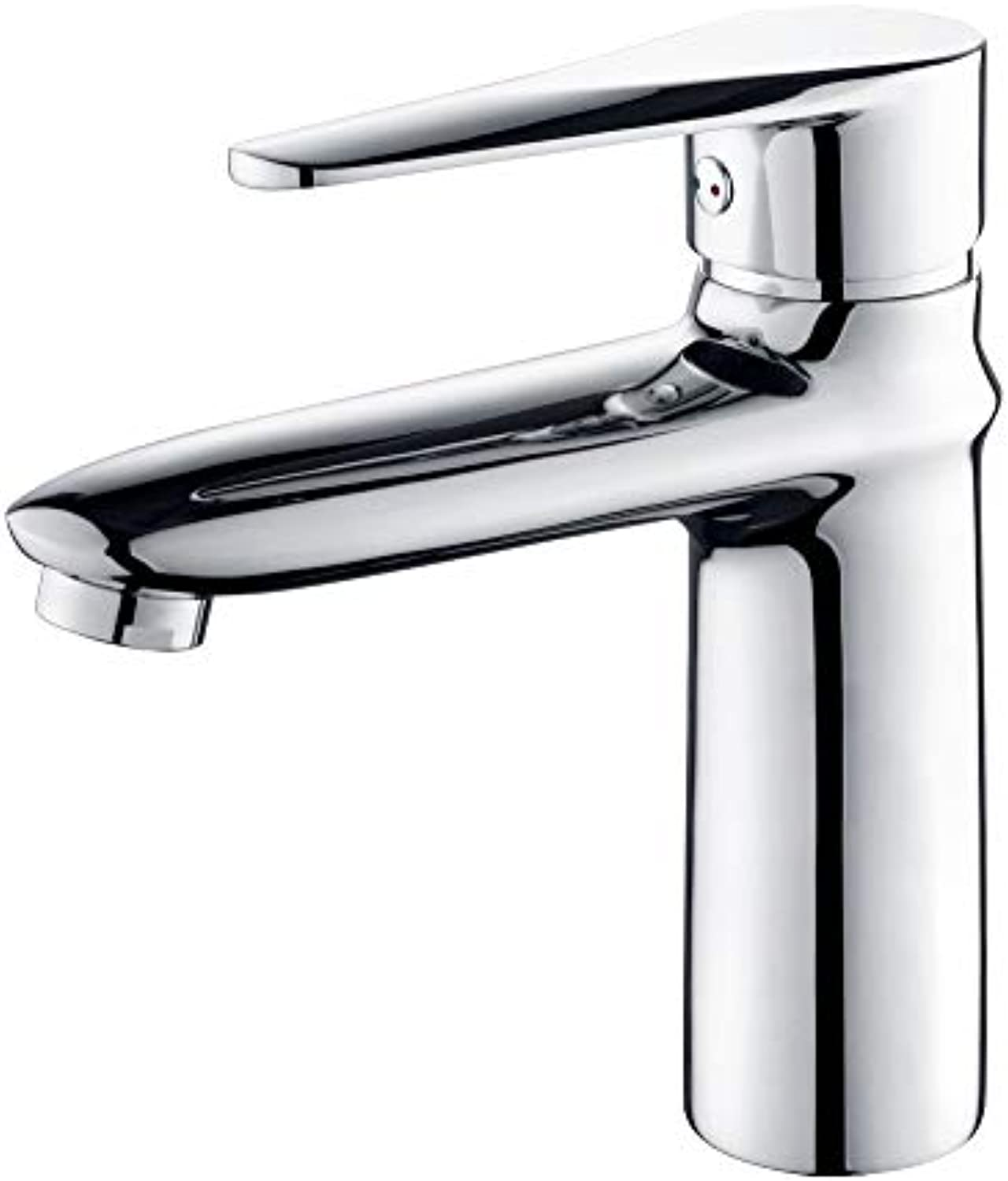 ALVAR Basin Mixer Taps, Bathroom Sink Mixer Faucet Single Lever Handle Chrome Leadless Brass,Switchthe Cold & Warm Water with The Flexible Handle