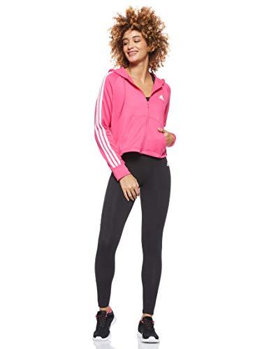 adidas WTS Hoody&Tight Chándal, Mujer, magrea Negro Negro, L