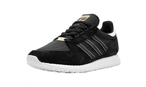 adidas Forest Grove - Zapatillas deportivas, color Negro, talla 43 1/3 EU