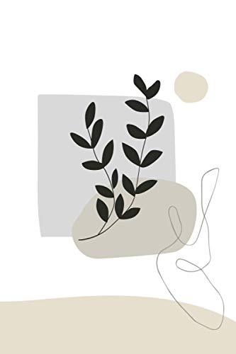 Studienplaner 2021/2022 (Pflanze Abstrakt Logo): Übersichtlicher Studentenplaner mit Zitaten - für die Universität, Hochschule, Fachhochschule, oder ... Platz für wichtige Notizen (Terminkalender)