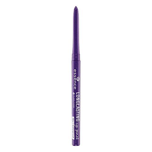 essence LONG-LASTING eye pencil, Kajal, Nr. 27 purple rain, violett, definierend, langanhaltend, Nanopartikel frei, ohne Parfüm, ölfrei (0,28g)