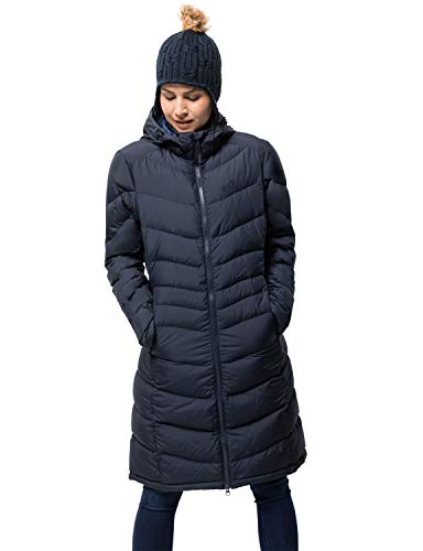 Jack Wolfskin Damen Selenium Coat Mantel, Midnight Blue, S