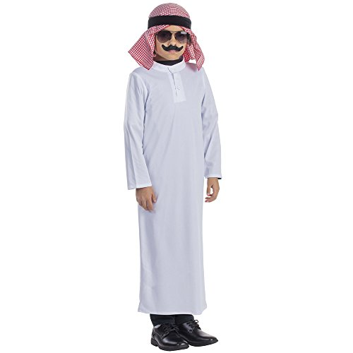 Dress Up America Costume de Sheik Arabe pour les enfants