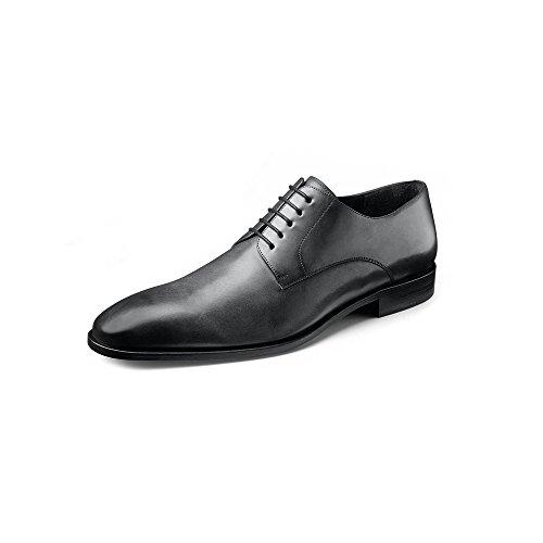 Wilvorst Modische Lederschuhe der Marke Farbe Grau Größe 44,5