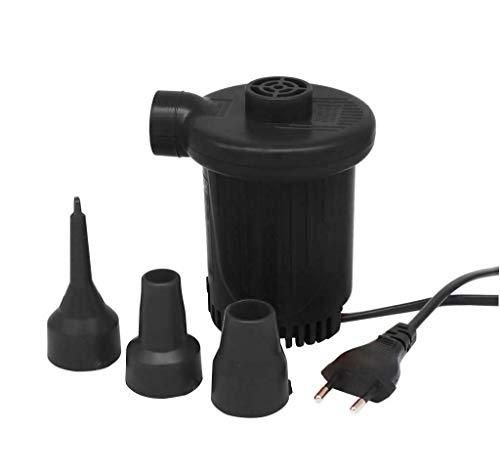 SILVANO Elektrische Luftpumpe AC 220 V 150 W 3 Aufblasdüsen