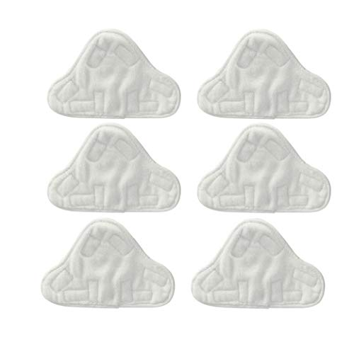 Microfibre Coussinets En Tissu Pour S'adapter Vax, Bionaire, Efbe-schotte, Montiss Et Delta Vapeur Mops (pack De 6)