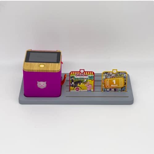 Estantería extra para la caja Tigerbox y para hasta 10 tarjetas/tarjeta tiger, color blanco, diseñado por softwarego.