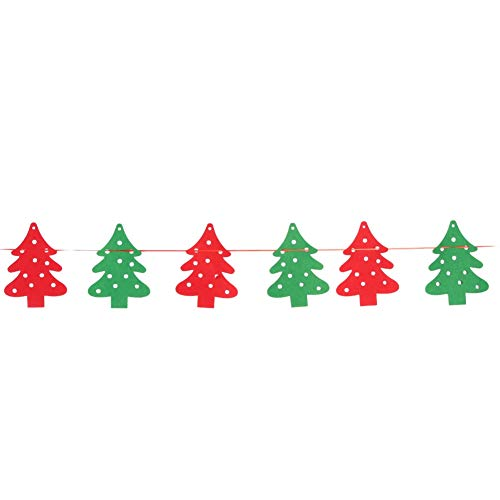 Vbestlife Christmas Flag Decor, Holiday Garden Flags Christmas Hanging Decor Christmas Banner Decor, for Christmas Holiday(Christmas Tree)