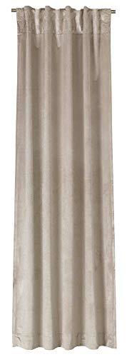 Joop! Show beige Dekoschal Verd.SL Farbe beige Größe 130x250cm Blickdicht Einfabrig Uni
