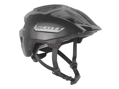 Scott Spunto Junior Plus Kinder Fahrrad Helm Gr.50-56cm Reflective schwarz 2021