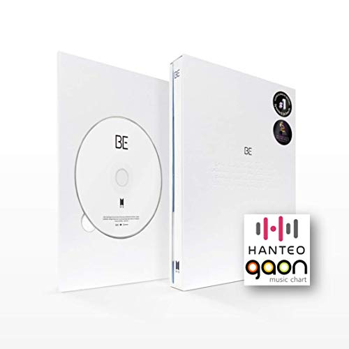 BigHit Ent. BTS - BE (Essential Edition) [Pre Order] CD+Photobook+Folded Poster+Others with Tracking, Extra Decorative Stickers, Photocards