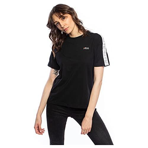 Fila JAKENA Taped T-Shirt, Noir, XL Femme