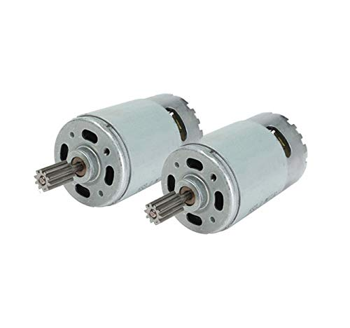 2 Pcs 550 35000RPM Electric Motor for 24 Volt Kids Ride On...