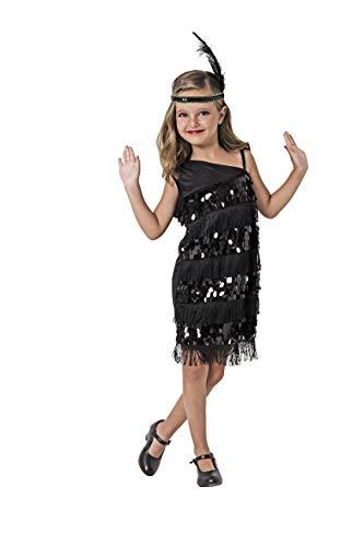 Costumizate! Disfraz de Charleston Talla 10-12 Especial para niños Fiestas de Disfraces o Carnaval