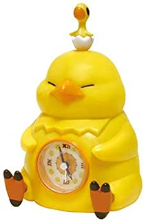 Taito Final Fantasy XIV Fat Chocobo Alarm Clock (Yellow), 6.3