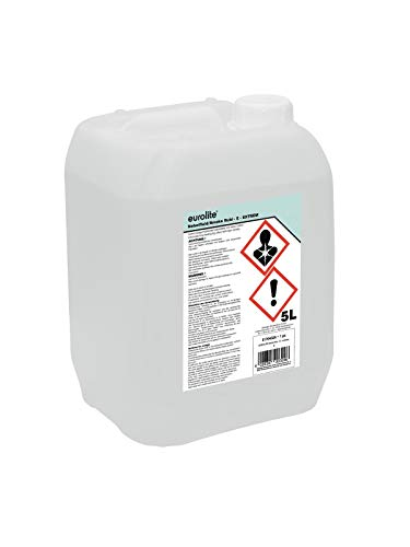 Eurolite Smoke fluid -E- extreme 5l Transparente - Accesorio de discoteca (Transparente,...
