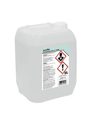 Eurolite Smoke Fluid -E- Extrem 5 Liter | Nebelfluid für Nebelmaschinen | Hohe Dichte und lange Standzeit | Made in Germany | Geruchsneutral auf Wasserbasis | Biologisch abbaubar