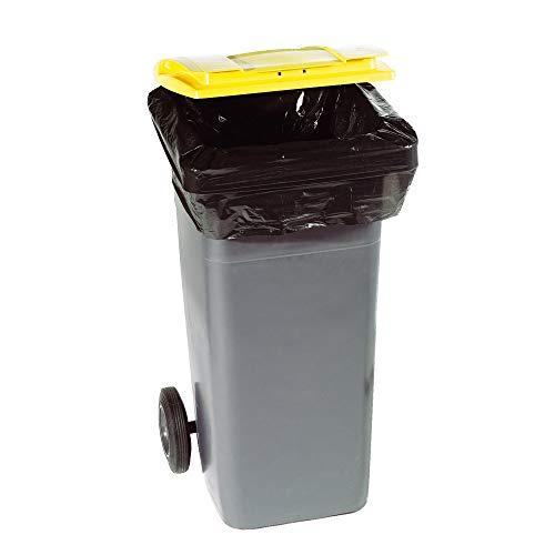 Sacs Poubelles | Housse Conteneur | 330 litres | Noir | Epaisseur 30µ | Paquet de 100 Sacs