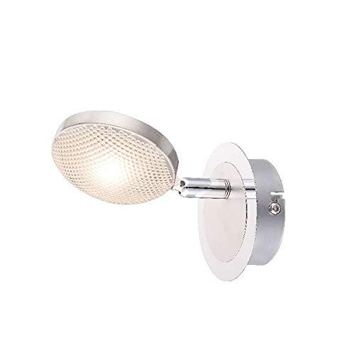 Wandspot voor binnen, LED-vloerlamp, wandlamp, leeslamp (wandspot beweeglijk, woonkamerlamp, slaapkamerlamp, 5 watt, warmwit)