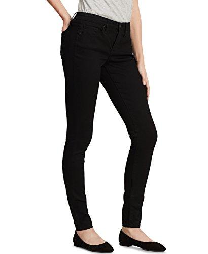 Calvin Klein Jeans Women's Curvy Skinny Jean,Black,14x32L