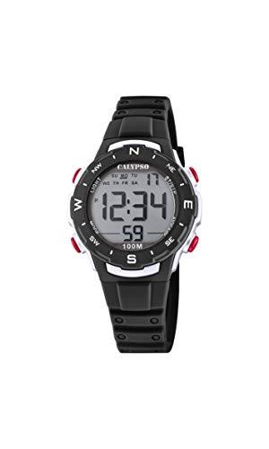Calypso Reloj Digital para Unisex Adulto de Cuarzo con Correa en Plstico K5801/6