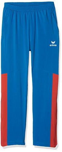 Erima Jungen Masters Präsentationshose-blau, Imperial Blue/Grenadine, 140