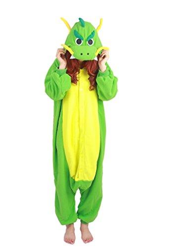 Fandecie Erwachsene Tier Kostüm Tierkostüm Tier Schlafanzug Pyjamas Jumpsuit Damen Herren Cosplay für Tier Fasching Karneval Halloween
