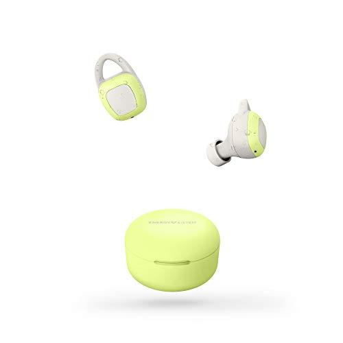 Energy Sistem Earphones Sport 6 True Wireless Light Lime (Auriculares inalambricos, Bluetooth, Control de reproducción y batería Recargable) - Lima