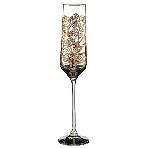 Goebel Der Lebensbaum - Sektgläser Artis Orbis Gustav Klimt Bunt Glas 66913501