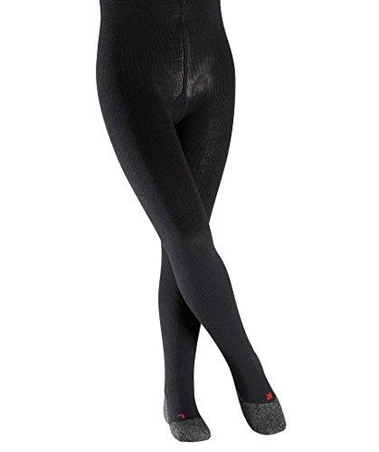 FALKE Mädchen Active Warm Strickstrumpfhose, black, 98-104