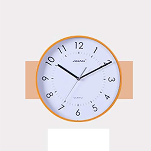 Yuanyuanliu Relojes De Pared Europeos Relojes Relojes De Pared Sala De Estar Tendencia Creativa Ambiente Reloj IKEA Reloj De Cuarzo Silencioso Reloj De Pared Silencioso Opcional MOV