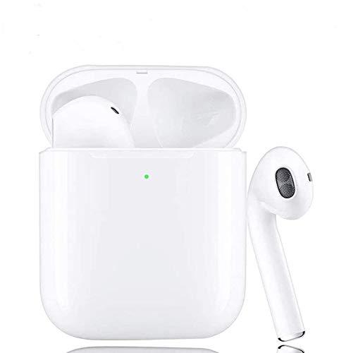 Auriculares Bluetooth Auriculares inalámbricos 5.0 Cancelación de Ruido Inalámbrico Hi-FI Deportes Auriculares estéreo inalámbricos In-Ear Auriculares Bluetooth Mini para iOS Android(W-9)