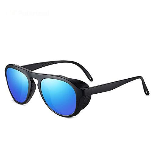 jzhi Gafas de Sol Gafas de Sol polarizadas para Conducir Hombres Deportes Gafas de Sol con protección Lateral