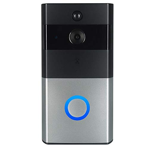 Fintass Ring Video Deurbel 720p HD Video Verbeterde Bewegingsdetectie 4 seconden Previews Eenvoudige Installatie, WIFI Deurbel